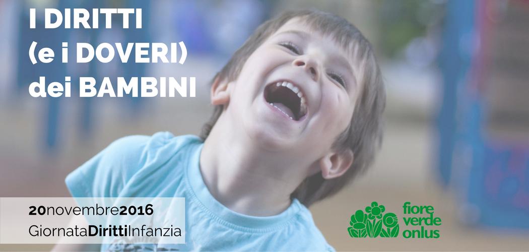 20 novembre 2016 i diritti e i doveri dei bambini for Convivenza diritti e doveri